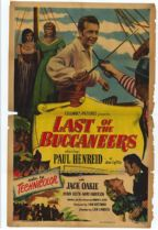 Last of the Buccaneers 1950 DVD - Paul Henreid / Jack Oakie